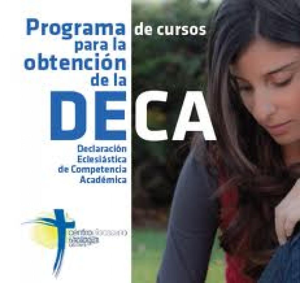NUEVO CICLO PARA OBTENCION DE LA DECA 2014-2016